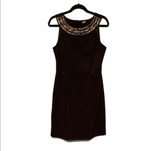 💕Connected chocolate brown sleeveless dress